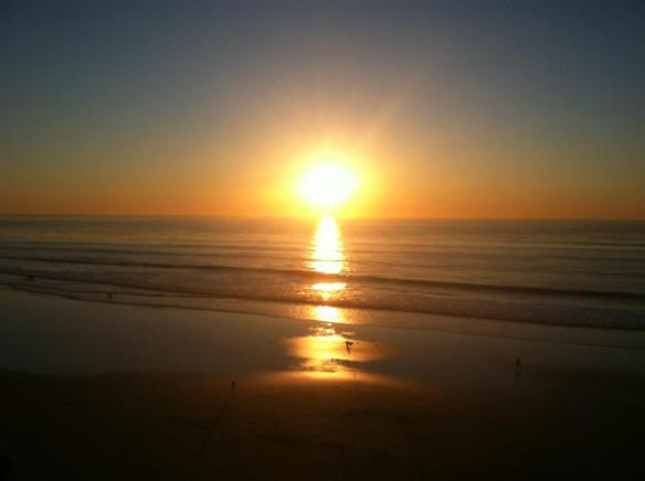 sunset San Diego